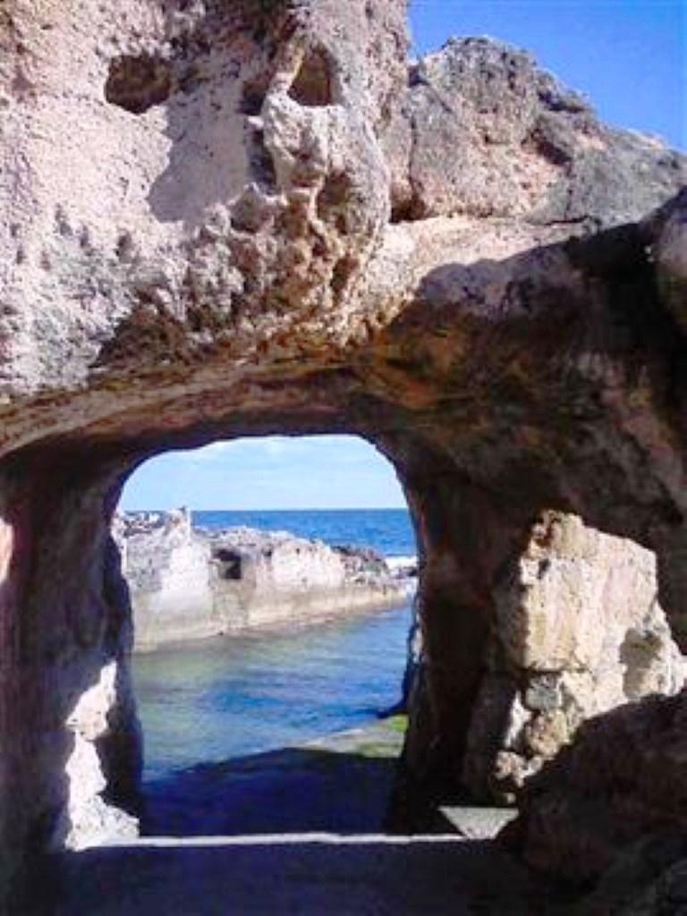 Accesso alla piscina naturale marina serra agriturismo - Piscina naturale puglia ...